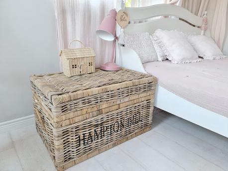 Rustykalna Skrzynia Kufer Rattan Hampton Hill (1)