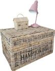 Rustykalna Skrzynia Kufer Rattan Hampton Hill (7)
