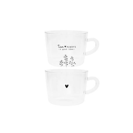 Szklanki Do Herbaty Tea Always/Heart Bastion Collections (1)