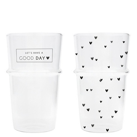 Szklanki Do Latte Good Day/Hearts Bastion Collections (1)