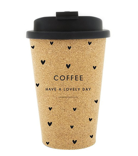 Kubek Podróżny Coffee To Go Little Hearts Bastion Collections (1)