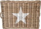 Rustykalny Kosz Pojemnik Rattanowy Hampton White Star (7)