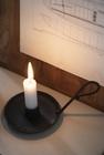 Świecznik Metalowy Czarny Retro Z Uchwytem IB LAURSEN (4)