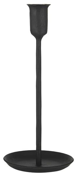Świecznik Metalowy Czarny Retro Ręcznie Robiony IB LAURSEN (1)