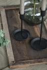 Świecznik Metalowy Czarny Retro Ręcznie Robiony IB LAURSEN (3)