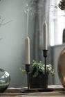 Świecznik Metalowy Czarny Retro Ręcznie Robiony IB LAURSEN (6)