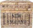 Rustykalna Skrzynia Kufer Rattan Hampton New England (8)