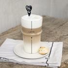 Ceramiczna Łyżeczka Do Latte Black Heart Bastion Collections (5)