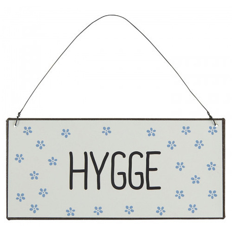 Metalowa Tabliczka HYGGE IB Laursen (1)