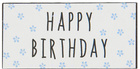 Metalowa Tabliczka Magnes Happy Birthday Niebieska IB Laursen (1)