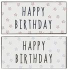 Metalowa Tabliczka Magnes Happy Birthday Niebieska IB Laursen (2)