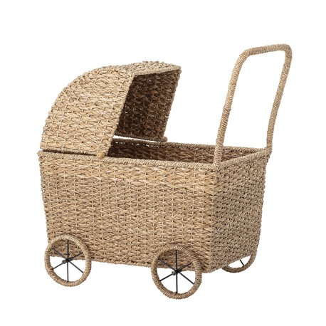 Bloomingville  Wózek dla lalek, trawa Nature (1)