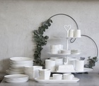 Miseczka White/love made Grey Bastion Collections  (3)