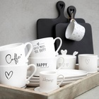 Kubek Espresso White Heart in Grey Bastion Collections  (2)