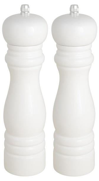 Białe Młynki 2szt. Sól/Pieprz IB Laursen  (1)