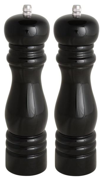 Czarne Młynki 2szt. Sól/Pieprz IB Laursen  (1)