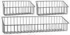 Koszyki zestaw 3 X półka metalowa IB Laursen (1)