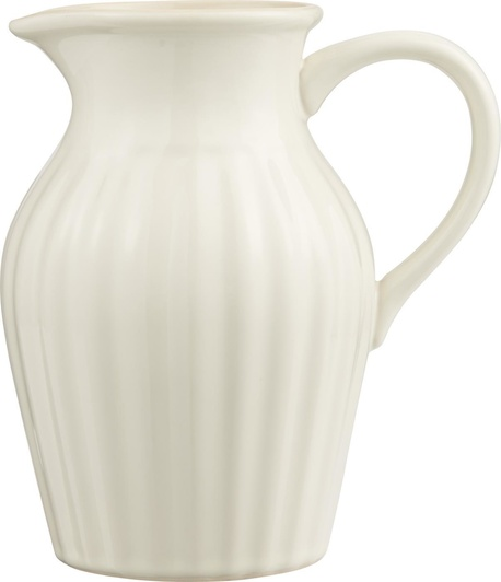 Dzbanek z Rowkami Mynte Butter Cream IB Laursen (1)