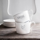 Kubek Filiżanka COFFEE Moment Grey Bastion Collections  (2)