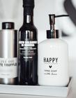 Dozownik Mydła Happy Hand Soap Black BASTION COLLECTIONS (5)