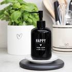 Dozownik Mydła Happy Hand Soap Black BASTION COLLECTIONS (2)