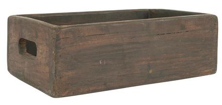 Drewniana skrzyneczka z otworami do chwytania Unique IB Laursen (1)