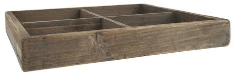Drewniana skrzynka , 4 Przegródki Unique IB Laursen (1)