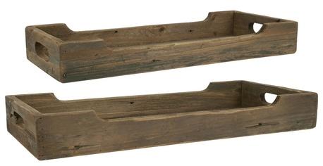 Drewniane Tace Komplet 2 sztuk IB Laursen (1)