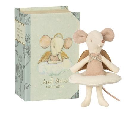 Myszka Duża Siostra Anioł w Książce Maileg (1)