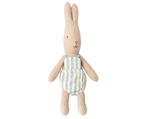 Królik Króliczek Blue Striped Micro Rabbit Maileg (1)