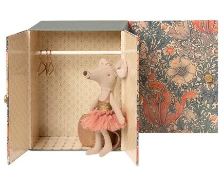 Myszka Dance Room Big Sister Mouse Maileg (1)