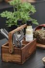Drewniana skrzyneczka z 5 Przegródkami i Rączką IB Laursen (2)