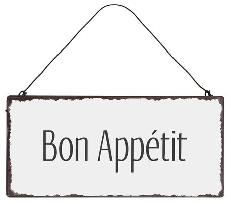 Metalowa Tabliczka Bon Appétit IB Laursen (1)