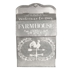 Metalowa Skrzynka Na Listy FarmHouse Clayre & Eef (2)
