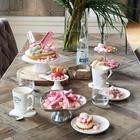 Drewniane Białe Podkładki Serca Rustic Rattan Coasters Riviera Maison  (3)