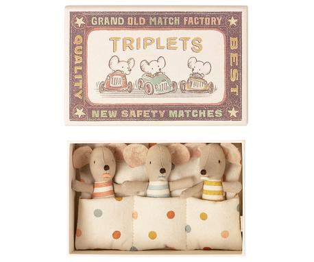 Myszki Trojaczki W Pudełku Baby Mice Maileg (1)