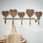 Rattanowy Wieszak Rustic Pretty Hearts Riviera Maison (2)