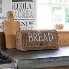 Rattanowy Chlebak Rustic Bread Box Riviera Maison  (2)