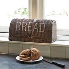 Rattanowy Chlebak Rustic Bread Box Riviera Maison  (4)