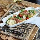 Podkładka Rustic Rattan Pod Talerz Z Napisem Dinner Riviera Maison (2)