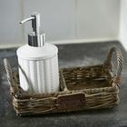 Taca Soap Rustic Rattan Riviera Maison (3)