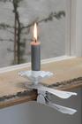 Zestaw 6 Świeczek Jasnoszarych IB Laursen (4)