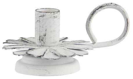 Świecznik Metalowy Biały IB LAURSEN (1)