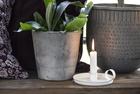 Świecznik Metalowy Biały Z Uchem IB LAURSEN (6)
