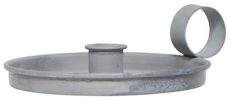Świecznik Metalowy Szary Z Uchem IB LAURSEN (1)