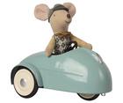 Myszka W Aucie Z Garażem Blue MAILEG (3)