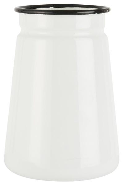 Wazon Dzbanek Emaliowany Biały IB LAURSEN (1)