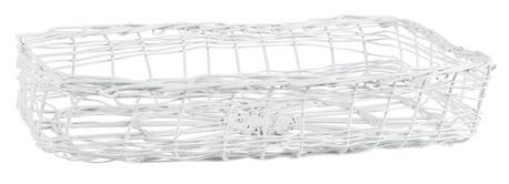 Serwetnik Prowansalski Metalowy Biały IB LAURSEN (1)
