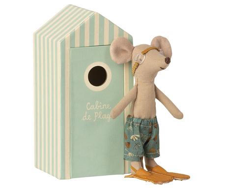 Myszka Starszy Brat w Kabinie Plażowej MAILEG (1)