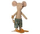 Myszka Starszy Brat w Kabinie Plażowej MAILEG (3)